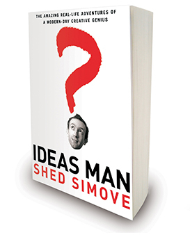 Ideas Man by author Shed Simove